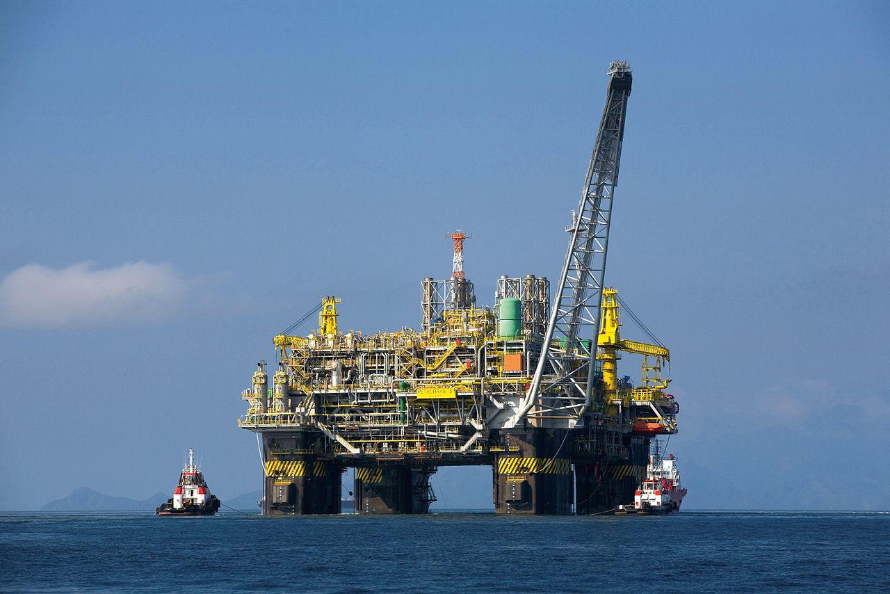 Une plate-forme pétrolière norvégienne, en mer du Nord ©Divulgação Petrobras / ABr