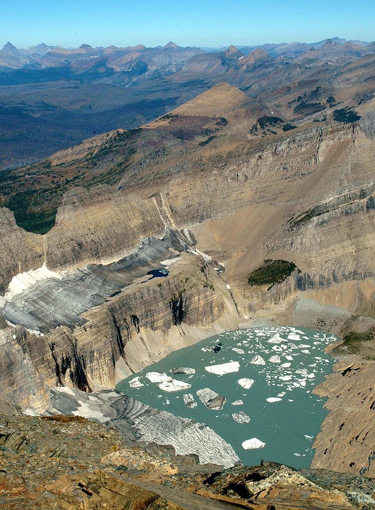 Le glacier de Grinnell en 2005