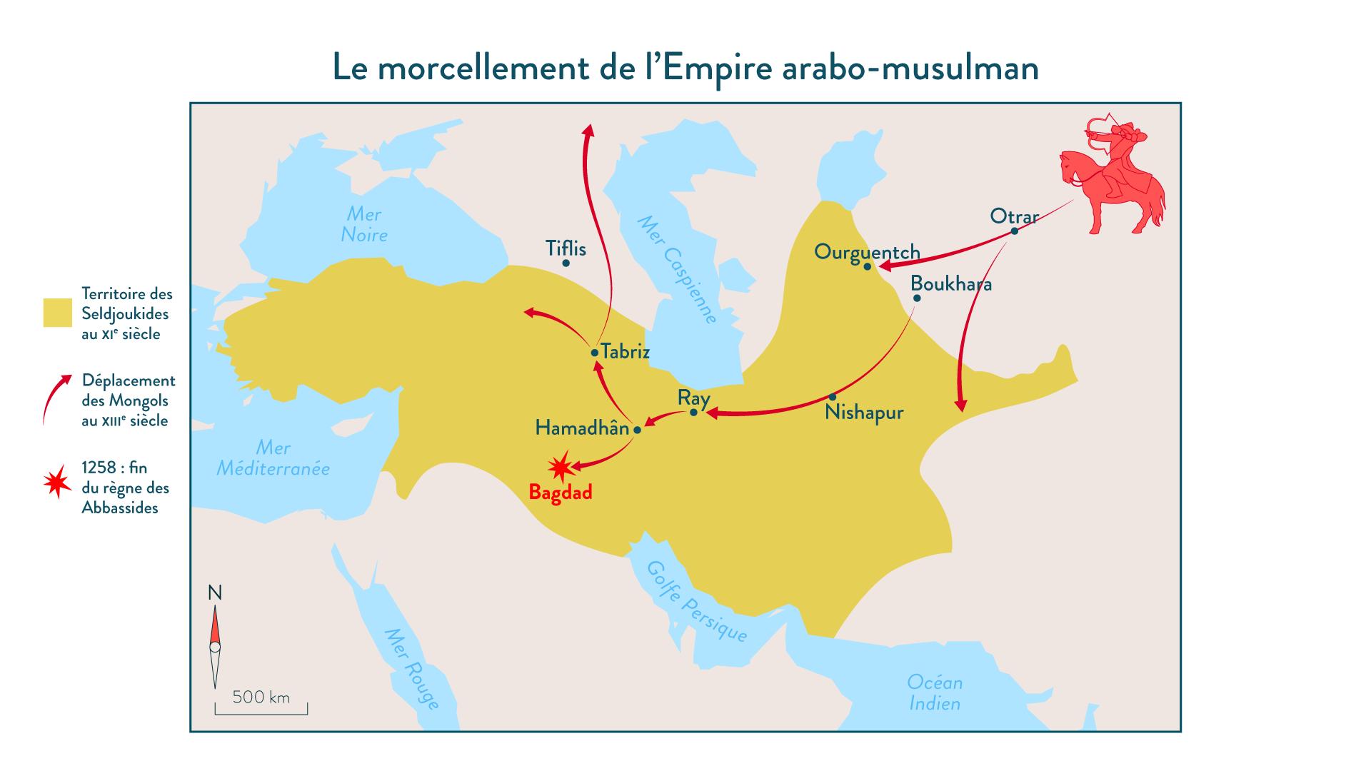 Le morcellement de l'Empire arabo-musulman5-histoire