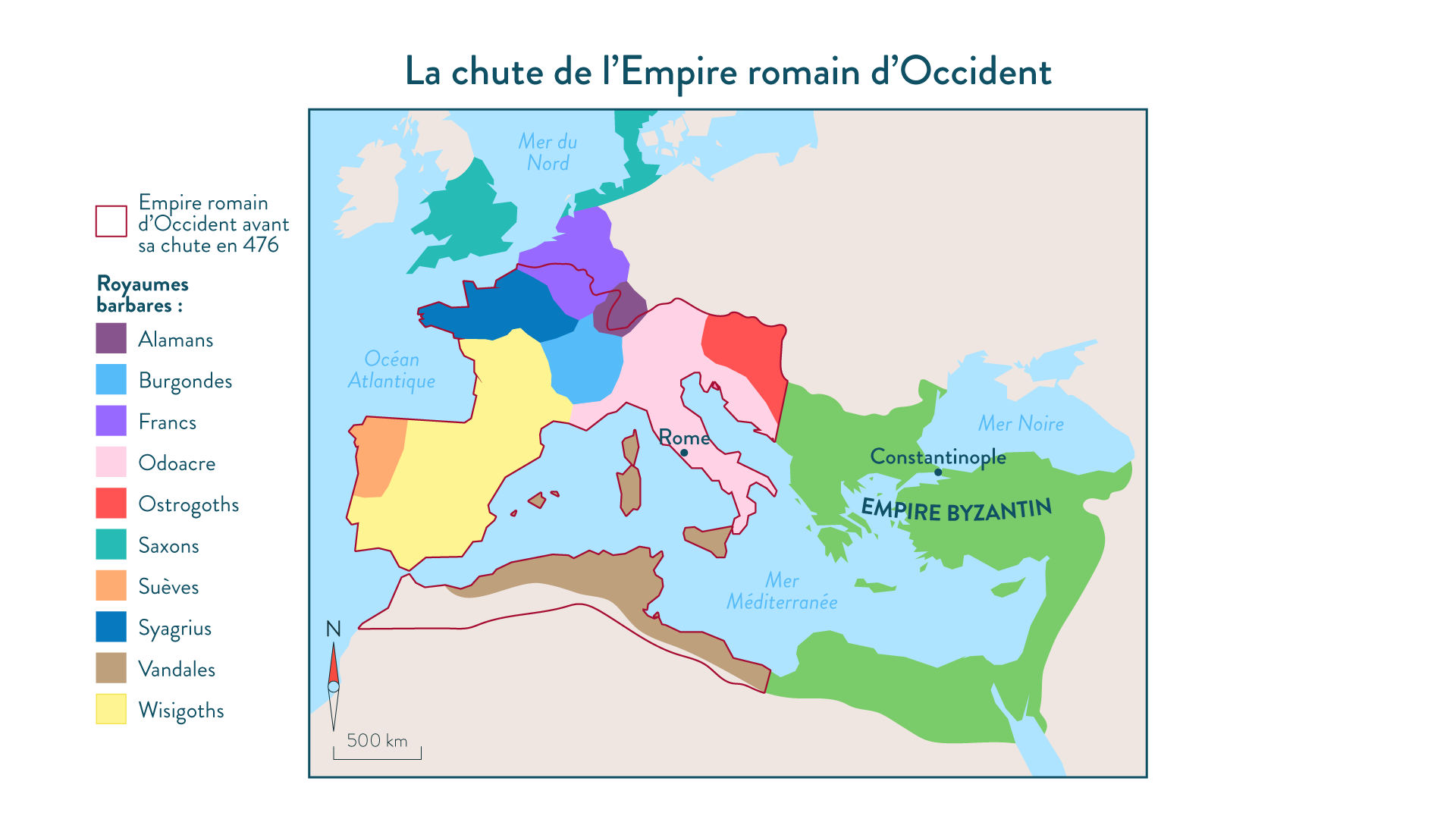La chute de l'Empire romain d'Occident-5e-Histoire