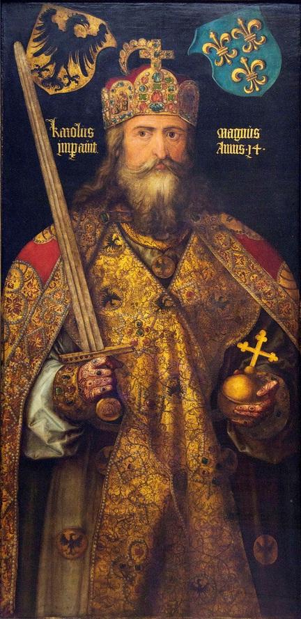 Représentation de Charlemagne par Albrecht Dürer, 1512, Musée national germanique