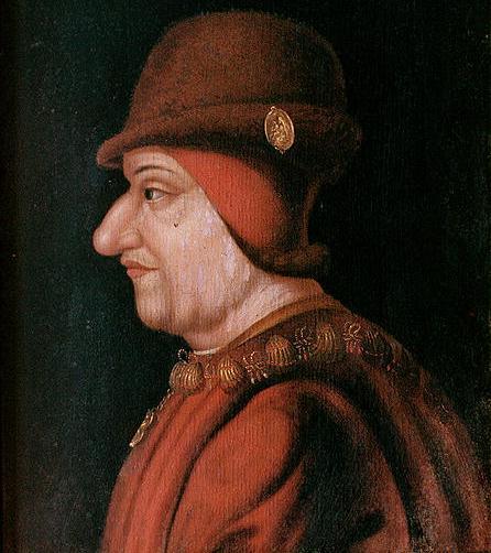 Louis XI. Peinture anonyme du XVII<sup>e</sup> siècle, Château de Plessis-lès-Tours
