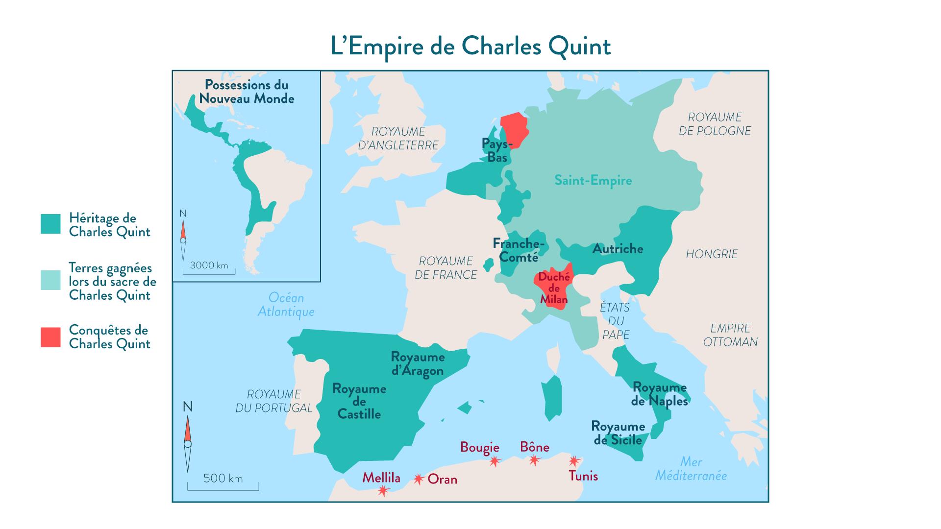 L'Empire de Charles Quint - 5e - histoire
