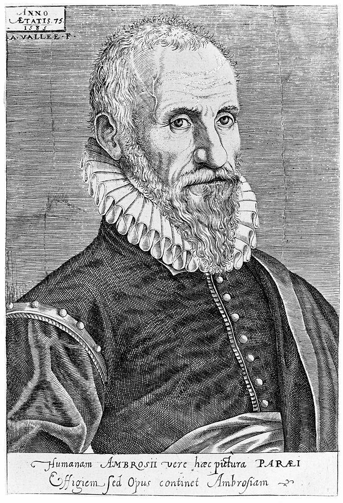 Portrait d'Ambroise Paré, 1585