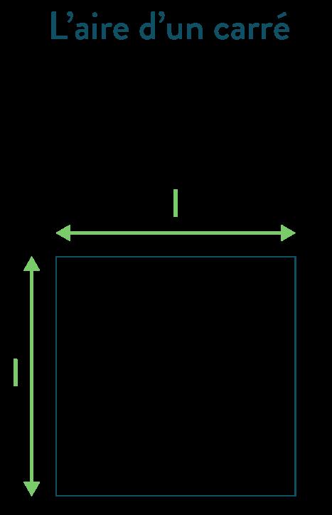 aire d'un carré calculer des périmètres et des aires mathématiques cinquième