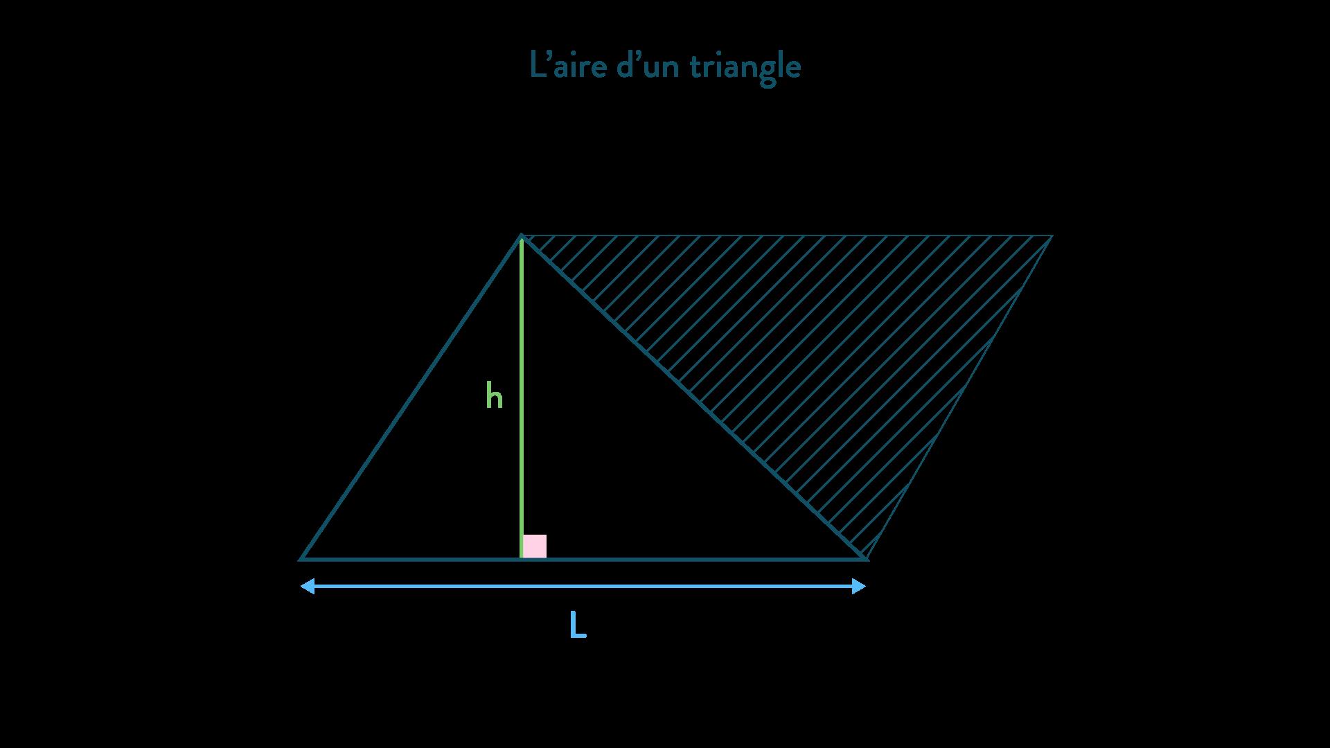 aire d'un triangle calculer des périmètres et des aires mathématiques cinquième