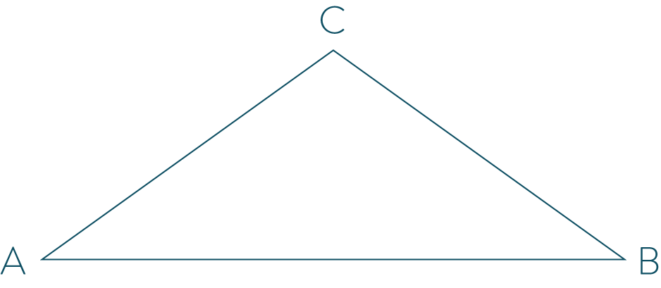 connaître et utiliser les triangles - partie 1 mathématiques cinquième