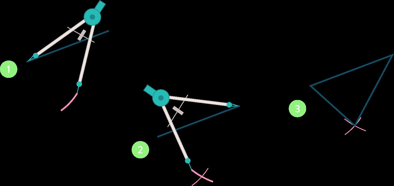 tracer des triangles connaître et utiliser les triangles - partie 1 mathématiques cinquième