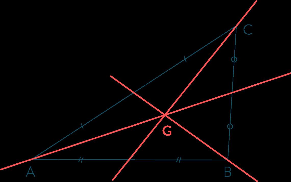 médiane connaître et utiliser les triangles mathématiques cinquième