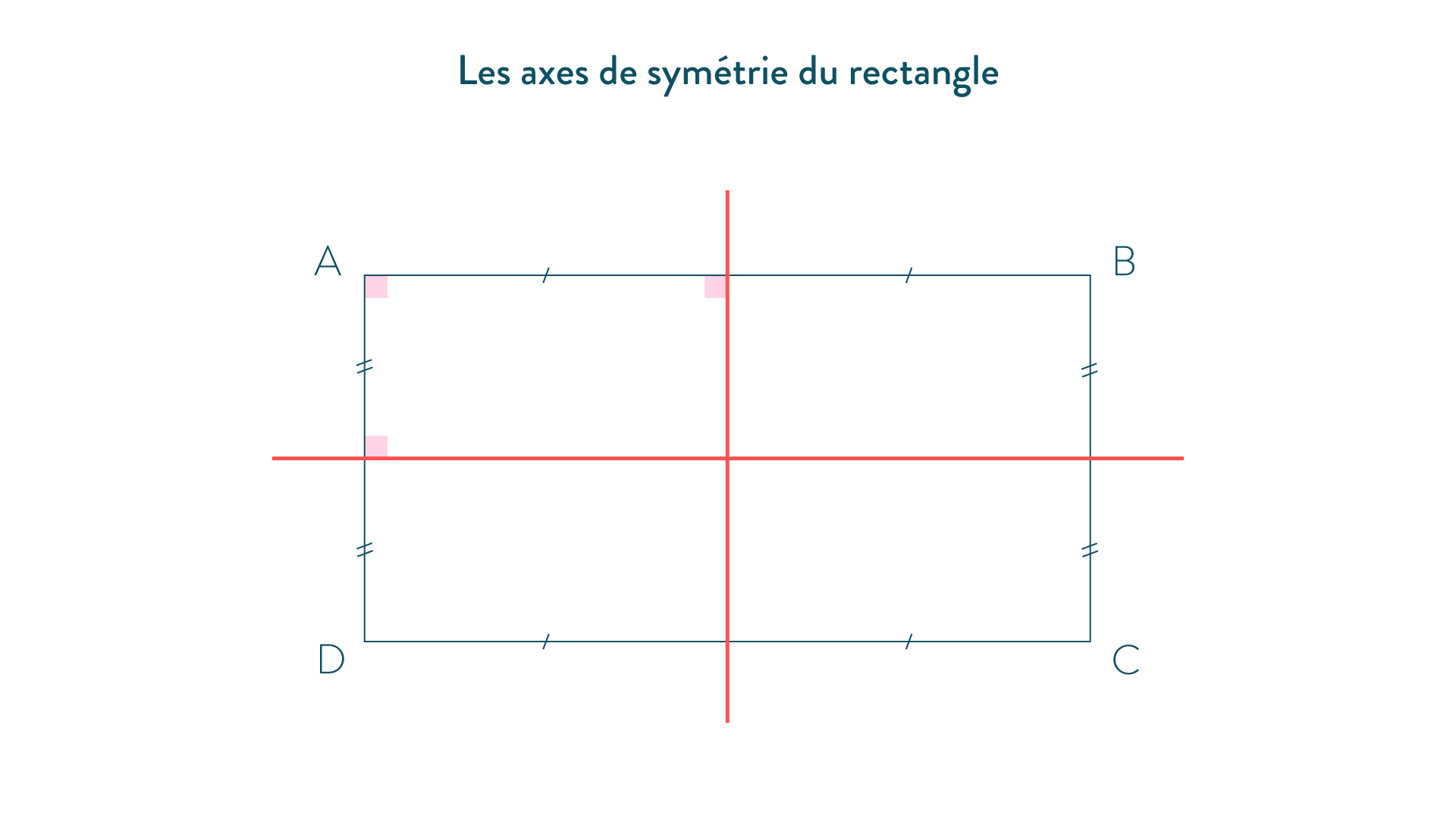 axe de symétrie Rectangle-5e-Maths
