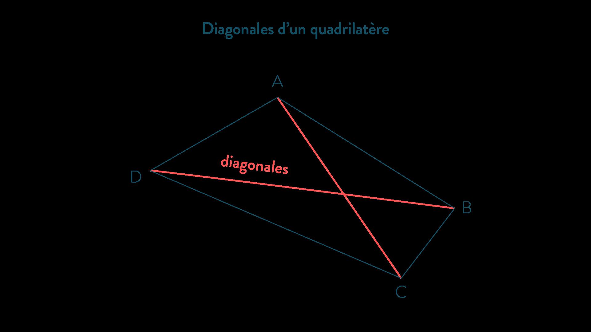 connaître les quadrilatères mathématiques cinquième