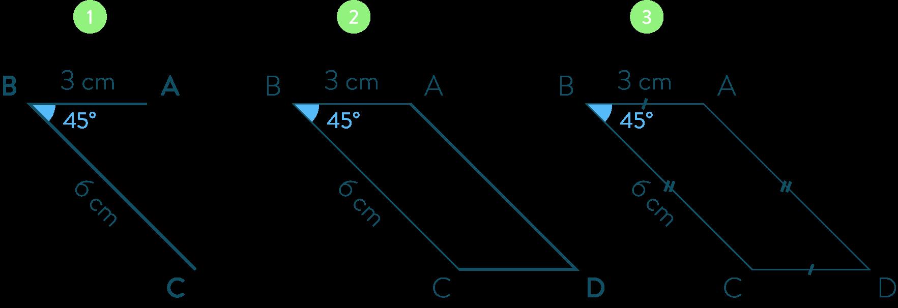 parallélogramme connaître les quadrilatères mathématiques cinquième