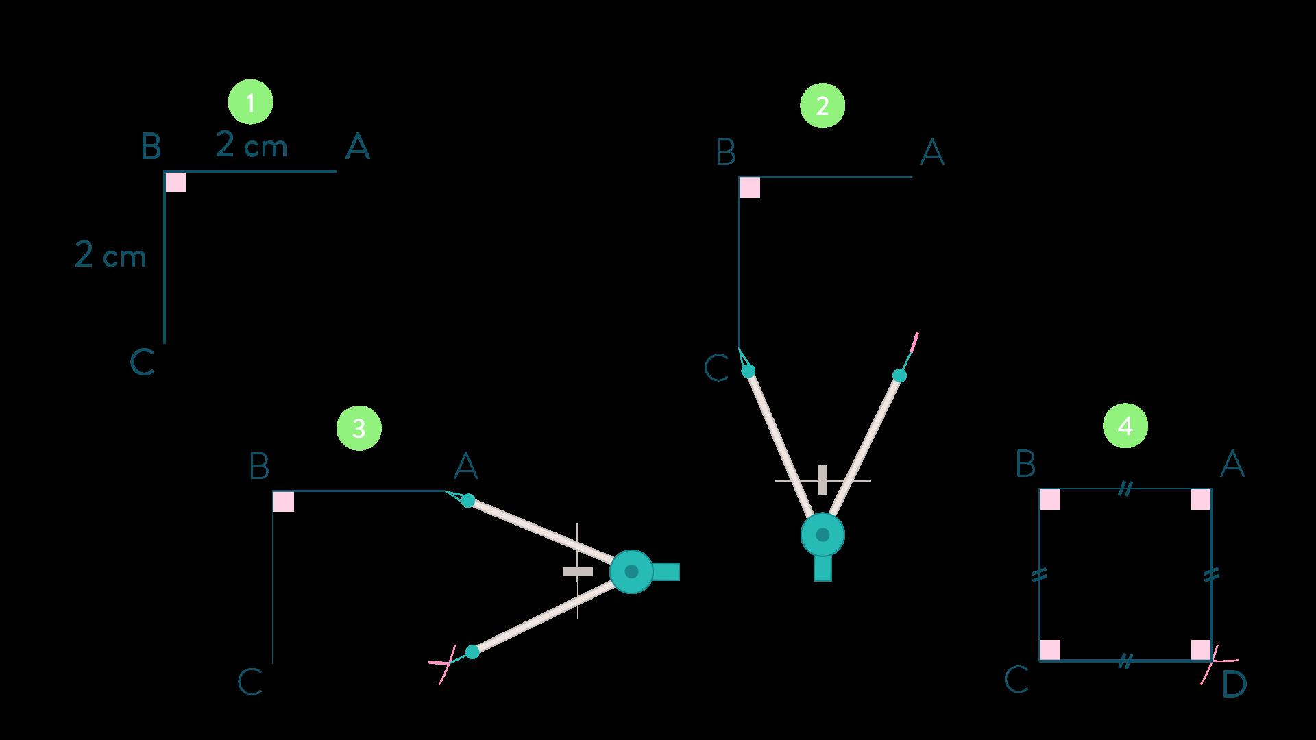 carré connaître les quadrilatères mathématiques cinquième