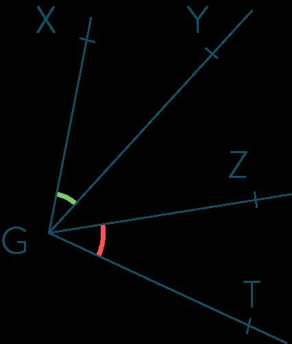 angles adjacents Caractériser le parallélisme avec les angles cinquième mathématiques