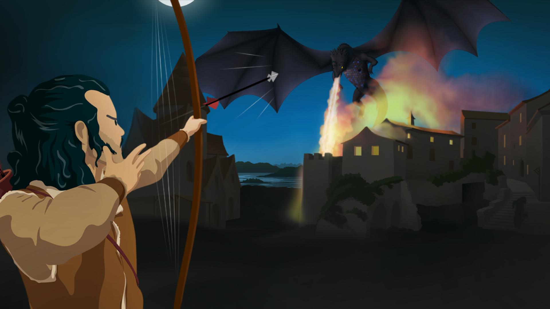 Le Hobbit-archer-Smaug-français-6e