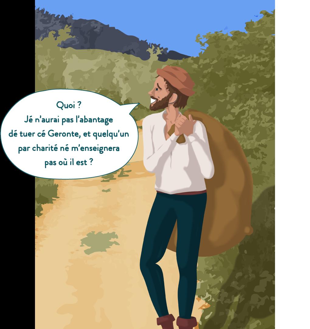 Fourberies de Scapin, français, 6e