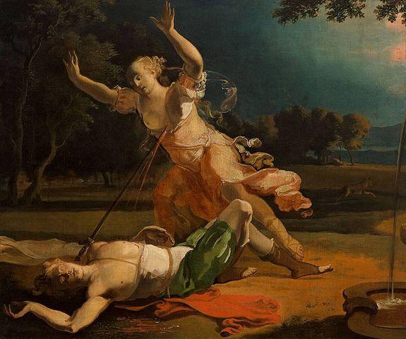 Abraham Hondius, Pyrame et Thisbé, 1660-1675