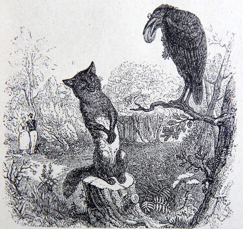 Jean-Jacques Grandville, Illustrations des Fables de La Fontaine, 1838-1840-Français-6e