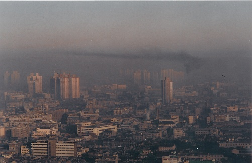 La métropole de Shanghai en Chine ©DL5MDA