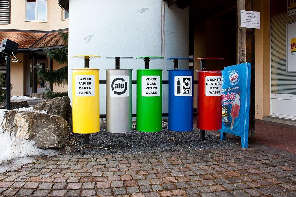 Le tri des déchets en Suisse ©Ludovic Péron – 28février 2012