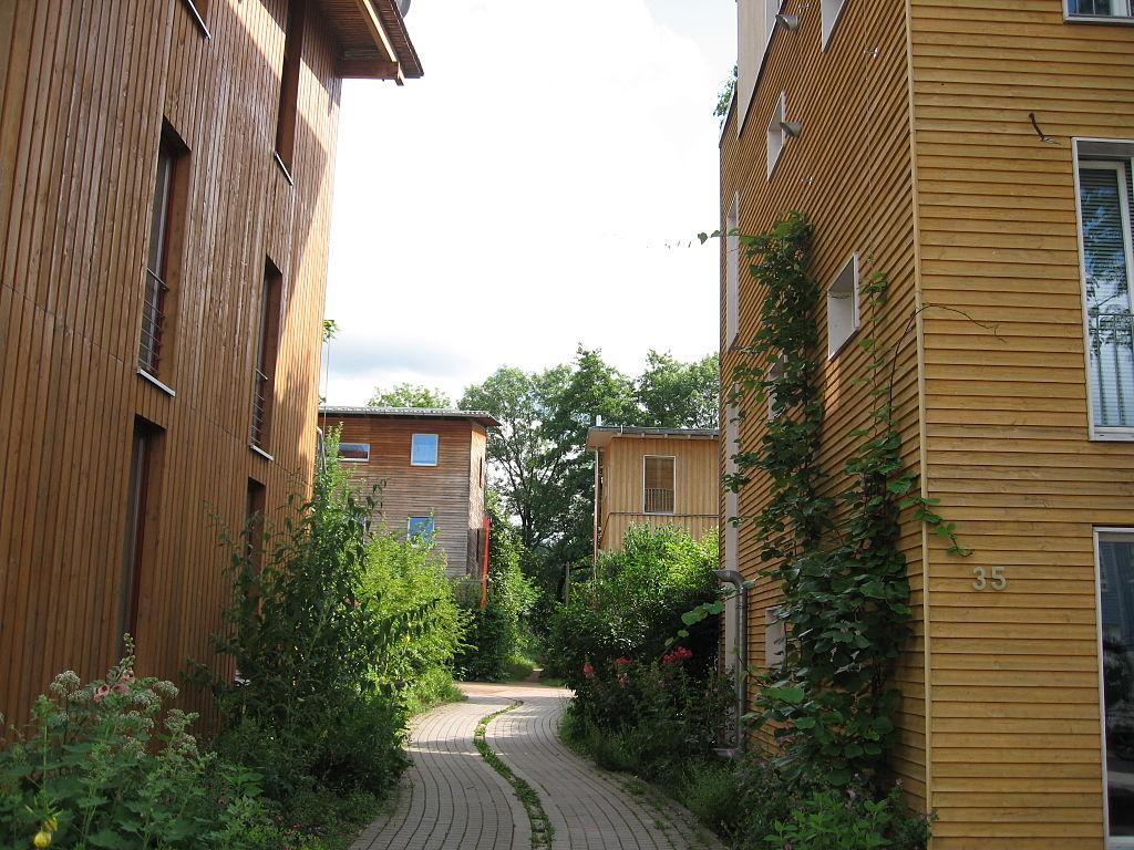 L'éco-quartier Vauban à Fribourg-en-Brisgau ©Claire7373 Andrewglaser – juin 2007 (Allemagne)