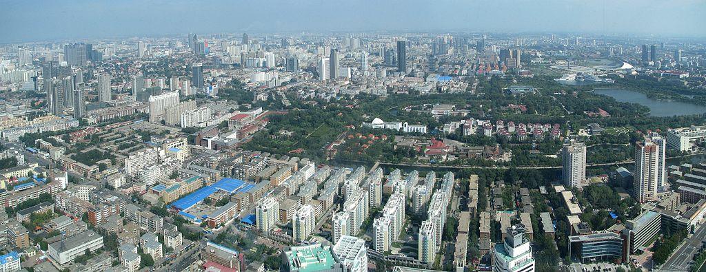 On trouve dans la mégapole de Tianjin la première éco-cité chinoise, Teda ©Netopyr-e