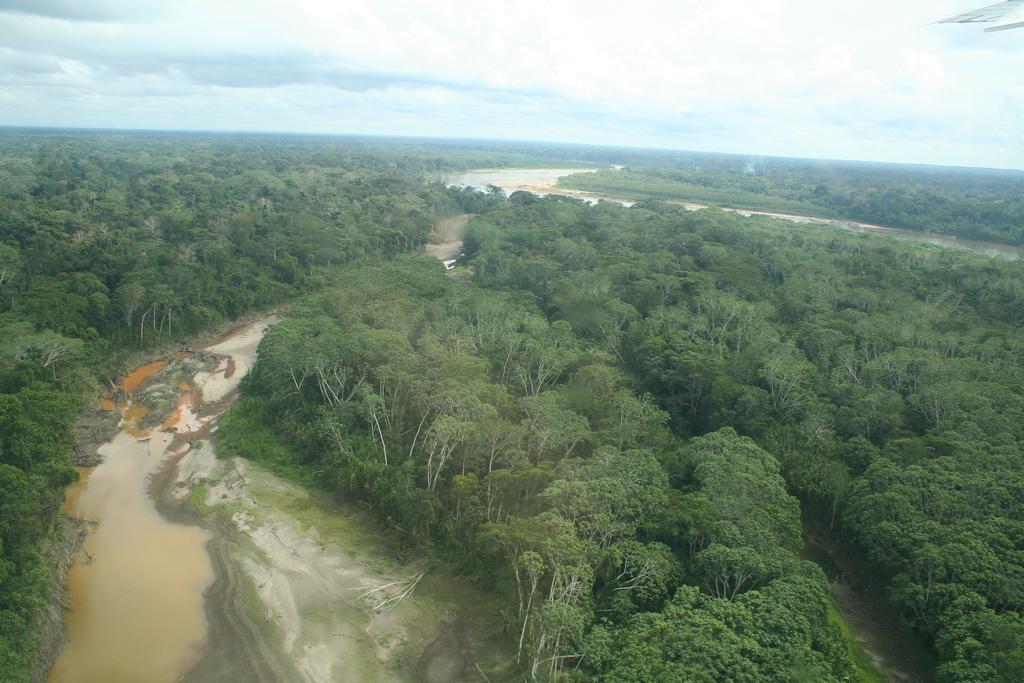 L'Amazonie vue du ciel ©Véronique Debrod-Lazaro