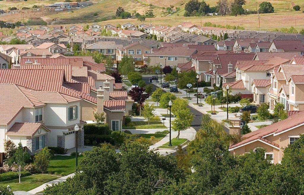 De nouveaux lotissements pavillonnaires à San José, en Californie ©Sean O'Flaherty