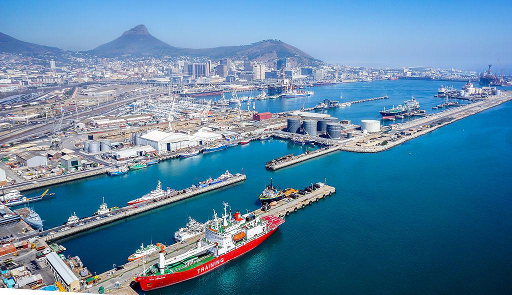 La ZIP de la ville du Cap, en Afrique du Sud ©SkyPixels