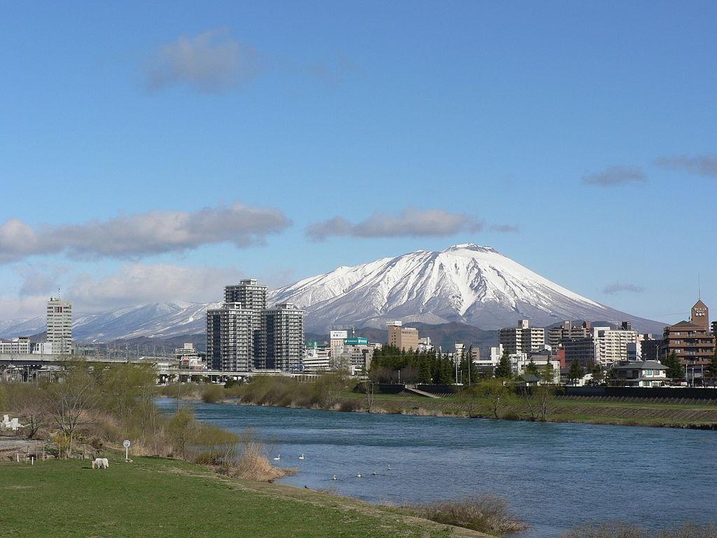 Le mont Iwate, sur l'île de Honshū, au Japon ©Yuichi