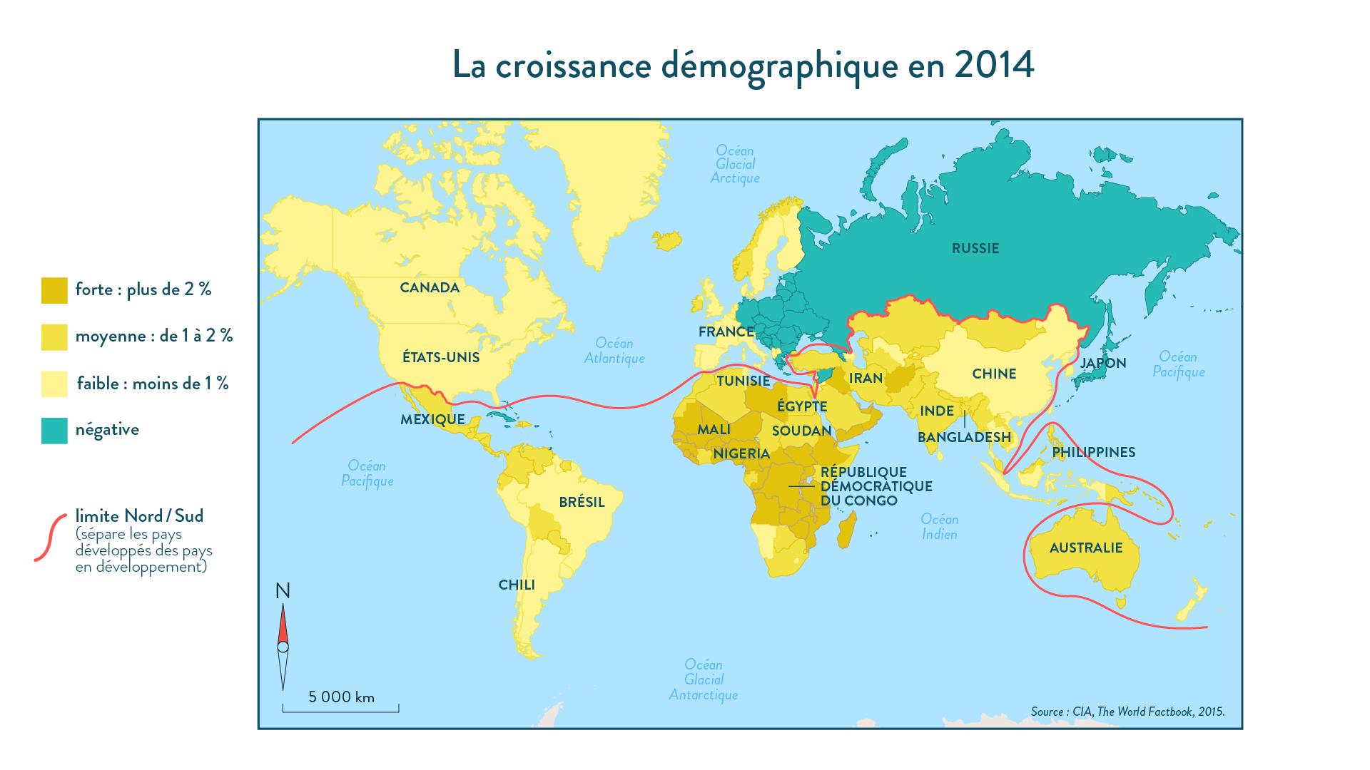 6e-géographie-SchoolMouv - La croissance démographique en 2014