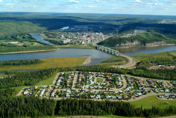 De nouvelles zones résidentielles à Fort McMurray ©Regional Municipality of Wood Buffalo