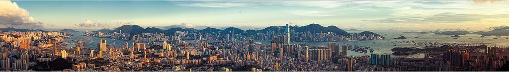 La ville de Hong Kong est la plus dense du monde avec plus de 6550habitants par km<sup>2</sup> ©Ryan Cheng