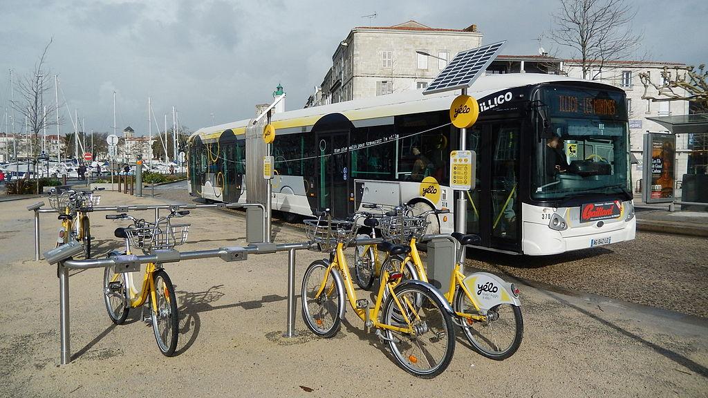 Les transports en commun à La Rochelle ©KiwiNeko14