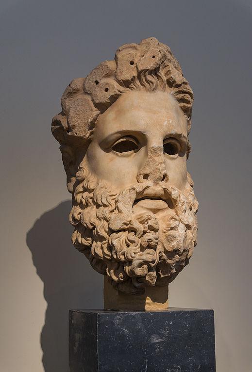 6e-histoire-Tête de Zeus
