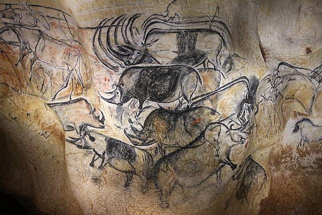 Fresque de la grotte Chauvet-6e-histoire