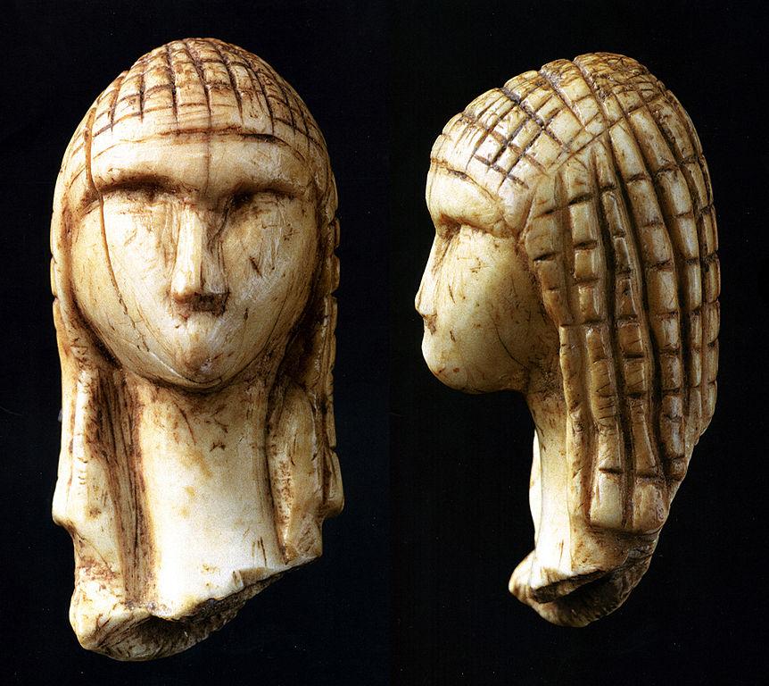 Fragement de statuette en ivoire de mammouth-6e-histoire