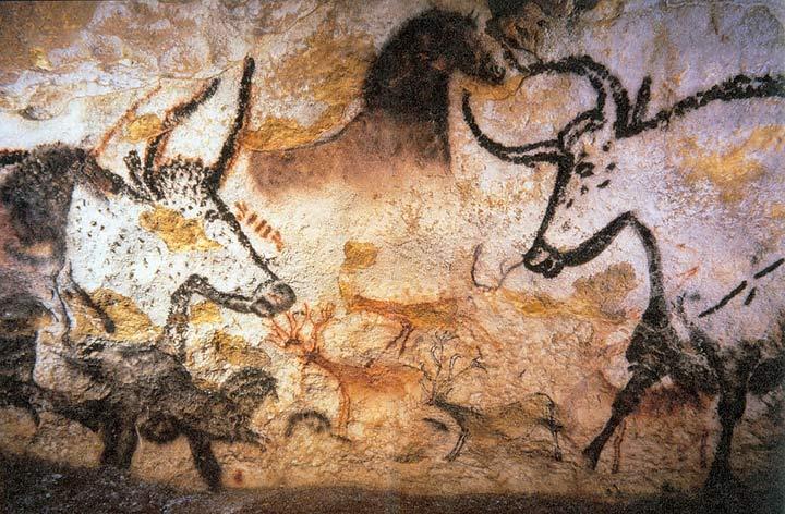 Fresque de la grotte de Lascaux-6e-histoire