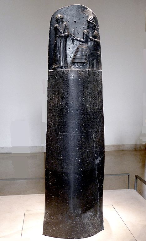 Stèle d'Hammourabi-6e-Histoire