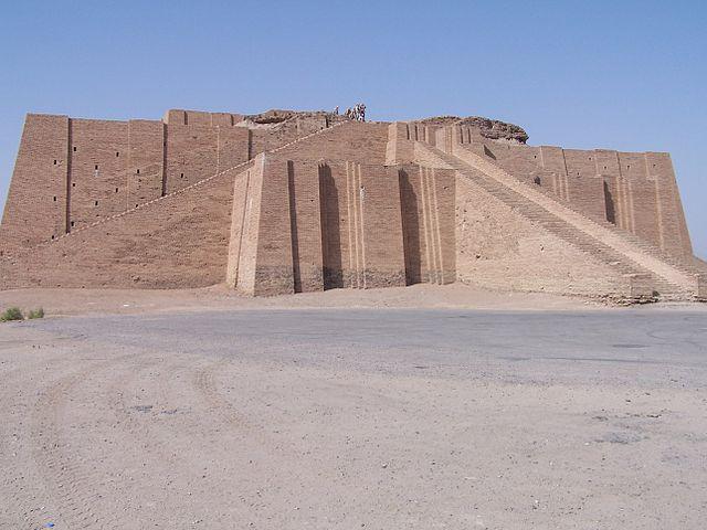 Restes de la ziggourat d'Ur-6e-Histoire