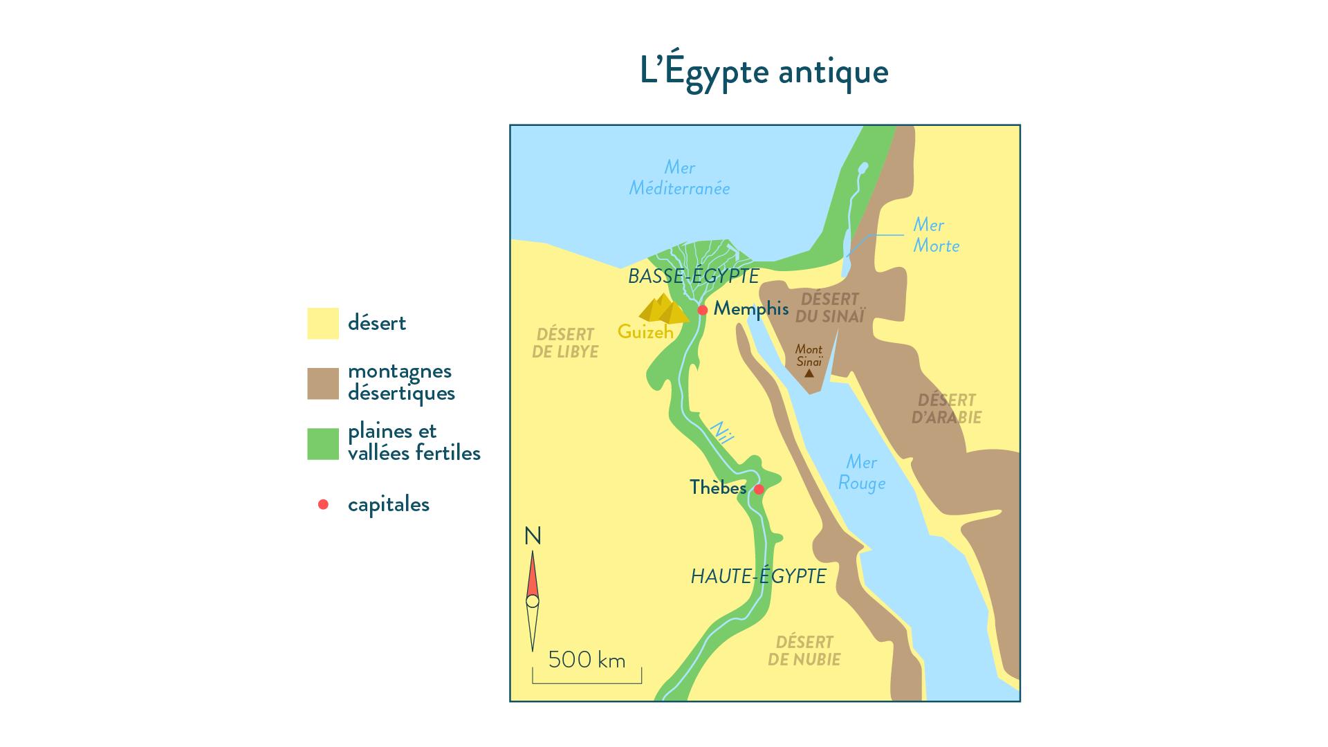 L'Égypte antique-6e-Histoire