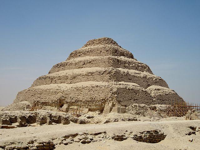 Pyramide à degré de Djaser-6e-Histoire