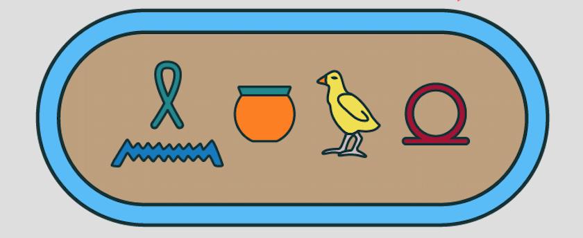 Hiéroglyphes-Histoire-6e