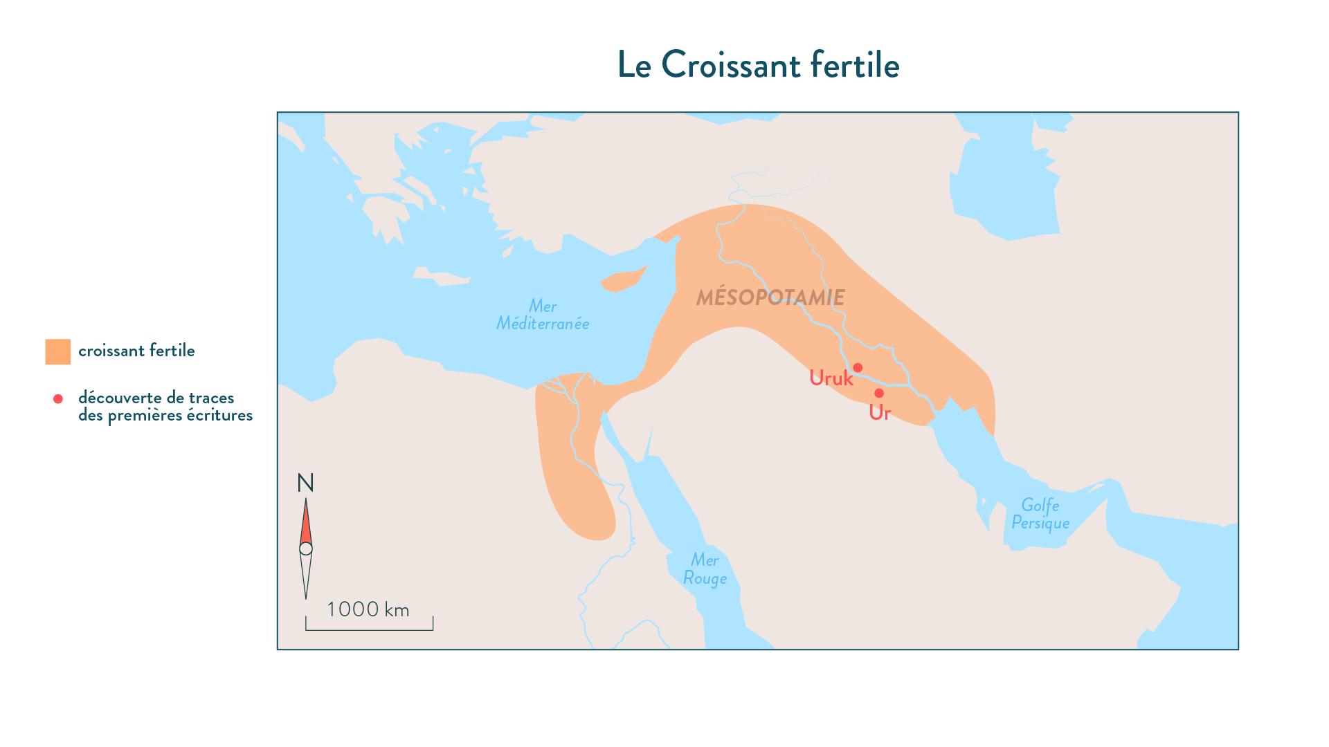 Histoire-6e-Le croissant fertile et Ur