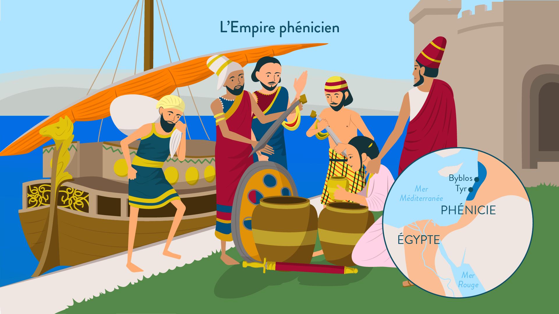 Histoire-6e-Les Phéniciens