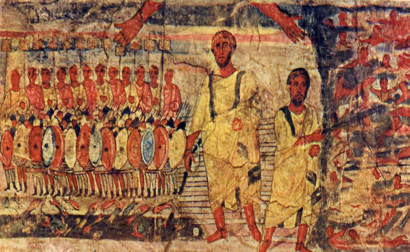 Moïse et la sortie d'Égypte-histoire-6e