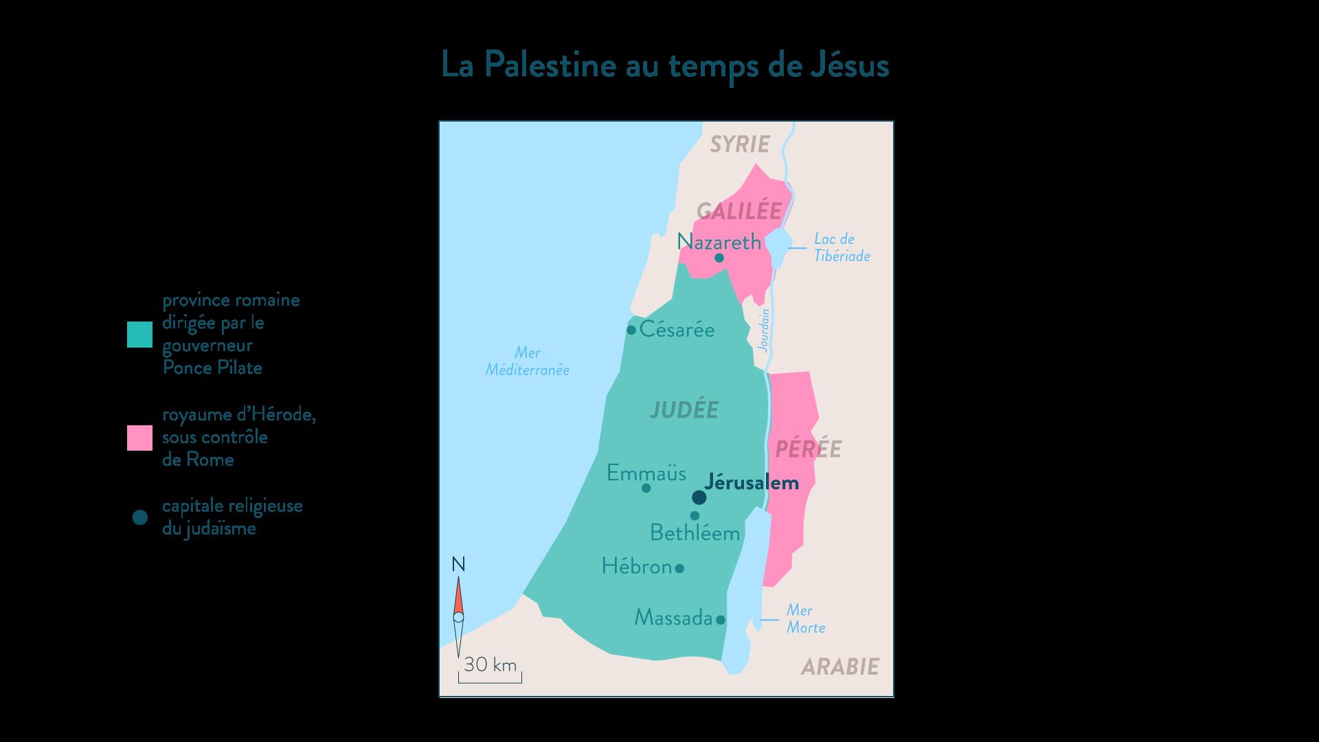 ALa Palestine au temps de Jésus-histoire-6e