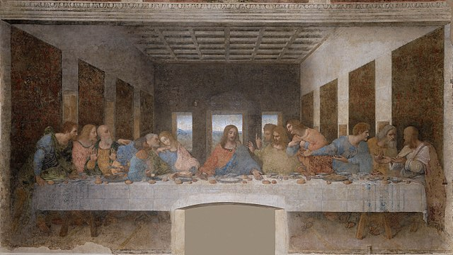 La Cène, tableau de Léonard de Vinci, 1495-1498, Couvent Santa Maria delle Grazie, Milan-histoire-6e