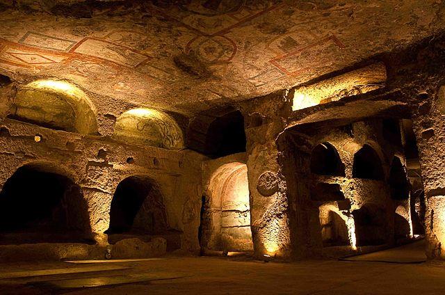 Les catacombes San Gennaro à Naples (Italie) ©Catacombes de Naples-histoire-6e