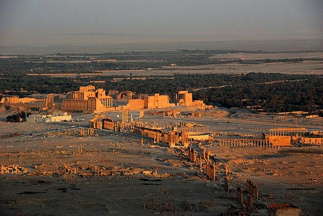 Palmyre, la dernière ville romaine sur la route de la soie ©James Gordon - 2008-histoire-6e